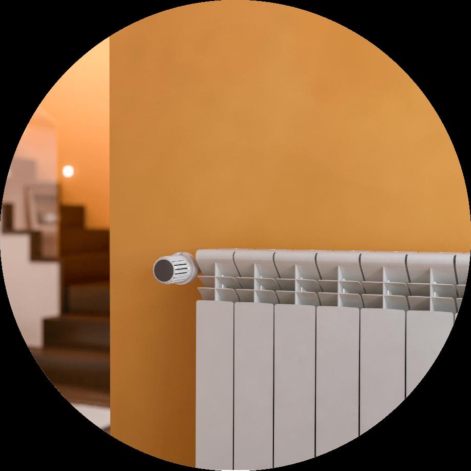 radiateur inertie rond
